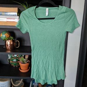 Lularoe ribbed knit t shirt